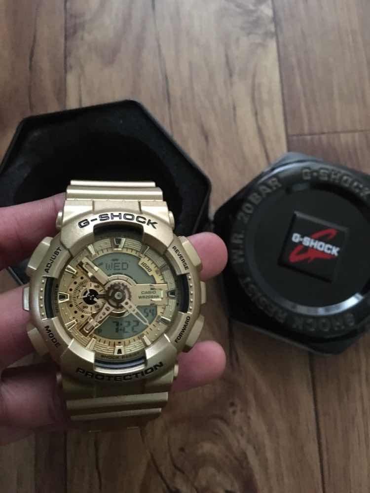 e7ed81586cf4 Reloj Casio G-shock Original Deportivo Dorado -   158.990 en Mercado ...