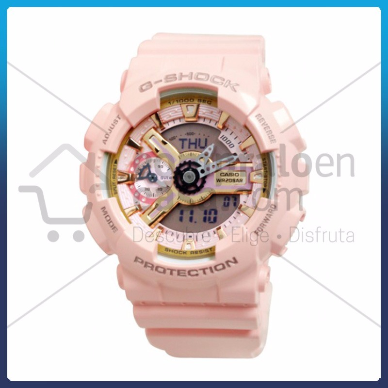 Reloj Casio G-shock Original Mujer Rosado 2 -   249.900 en Mercado Libre 3f1b3fb42964