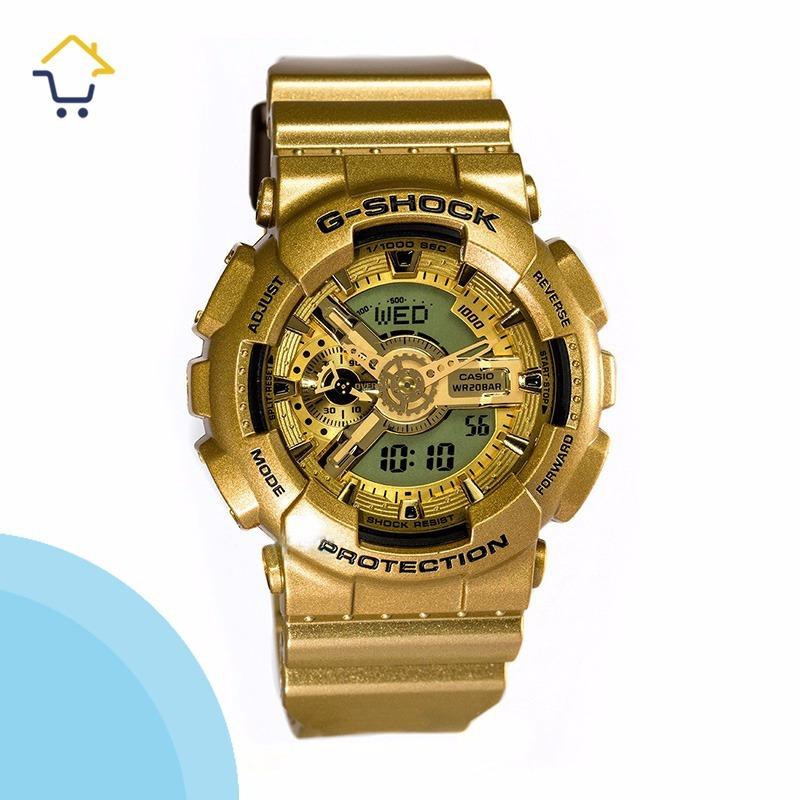 49a141f28735 Reloj Casio G-shock Original Unisex Dorado 2 -   249.900 en Mercado ...