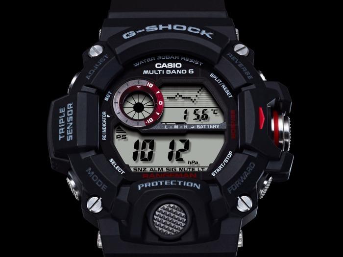 c08441e34c74 Reloj Casio G-shock Rangeman Gw-9400-1 Triple Sensor 6 Ctas ...
