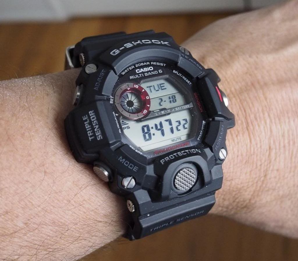 f77ff400e0bc Reloj Casio G-shock Rangeman Gw-9400-1 Triple Sensor 6 Ctas ...