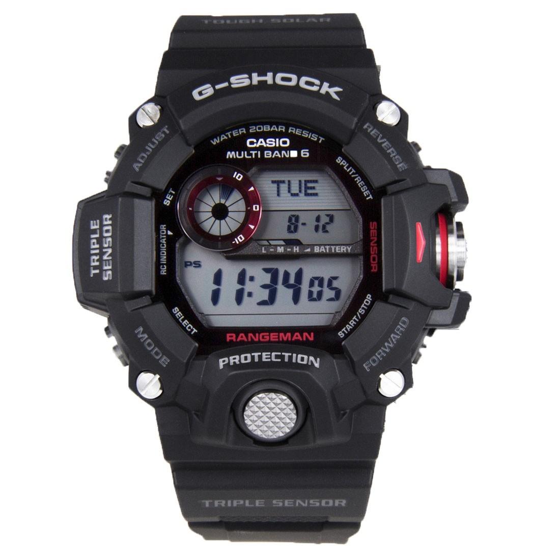 9386d5f84f8e reloj casio g-shock rangeman triple sensor gw-9400-1 solar. Cargando zoom.