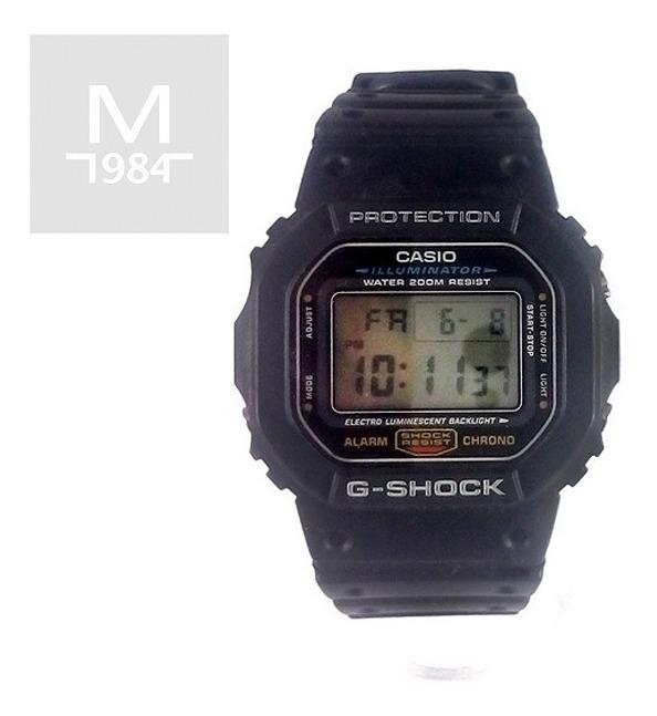Shock Retro G NegroResiste Casio Reloj GolpesSumergible uTwOkXiPZl