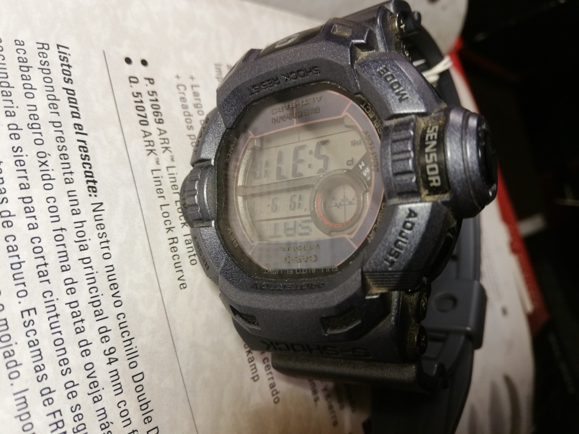 Reloj Casio G shock Riseman Militar 180vdes