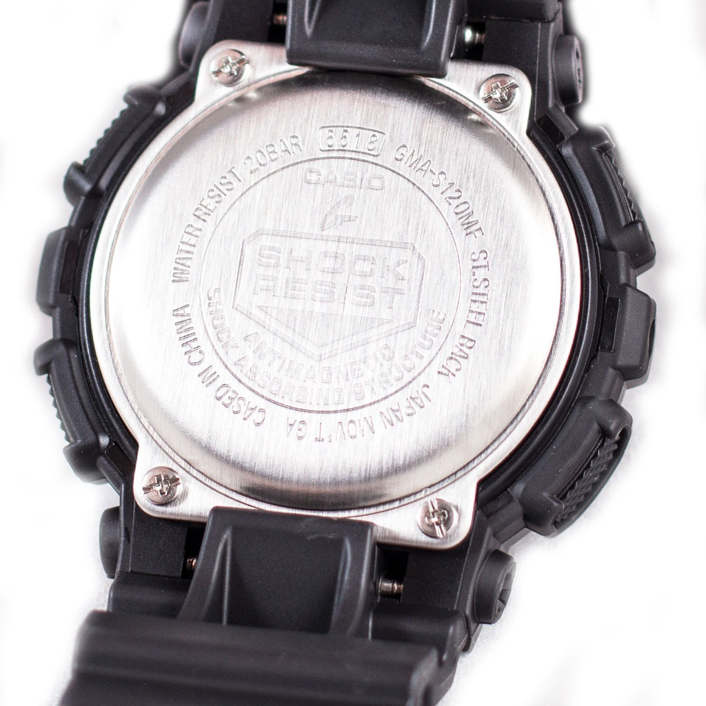 7371fb07edaf reloj casio g-shock s-series gma-s120mf-1a negro tres esfera. Cargando zoom.