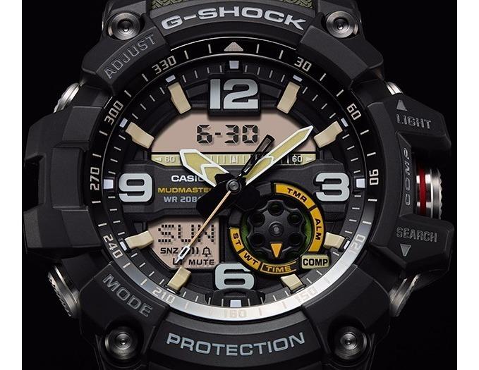G Táctico 1a3Gg1000 Casio Shock 1000 Reloj Mudmaster Gg nwPk0O8X