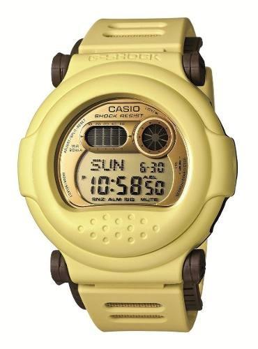 reloj casio g-shock wca834 amarillo