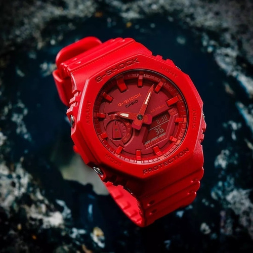 reloj casio g-shock youth carbon guard ga-2100-4a