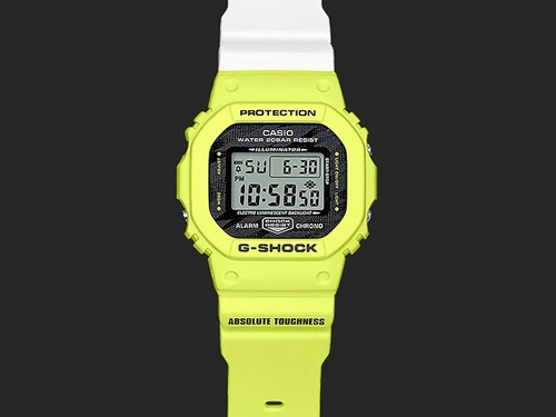 reloj casio g-shock youth dw-5600tga-9