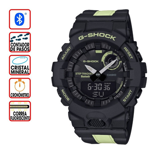 reloj casio g-shock youth g-squad gba-800lu-1a1