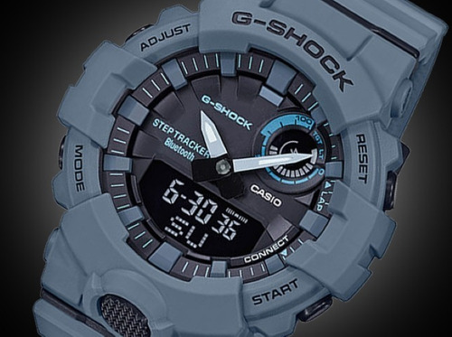 reloj casio g-shock youth g-squad gba-800uc-2 step tracker
