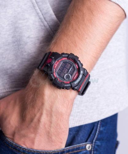 reloj casio g-shock youth g-squad gbd-800-1 step tracker