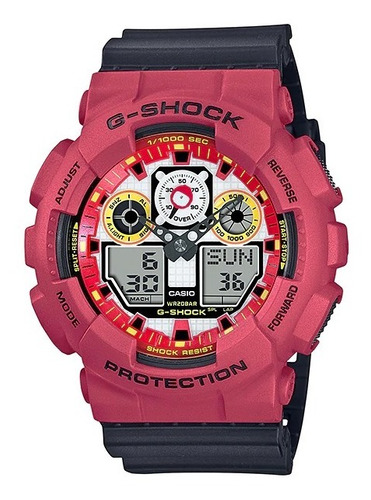 reloj casio g-shock youth ga-100da-4adr