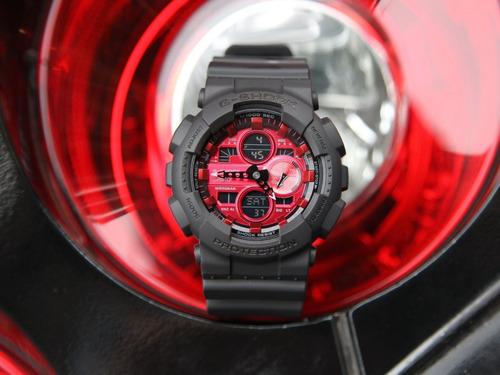 reloj casio g-shock youth ga-140ar-1a