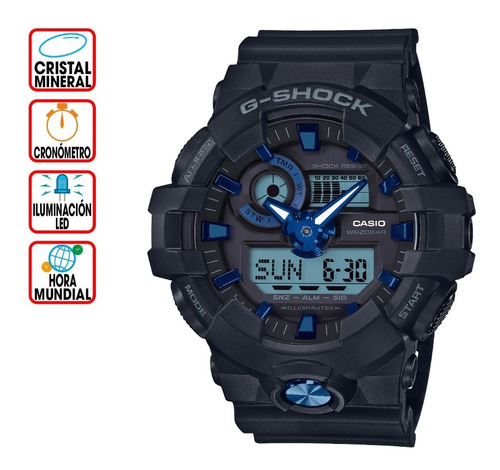 reloj casio g-shock youth ga-710b-1a2