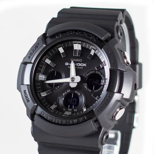 reloj casio g-shock youth gas-100b-1a big case solar