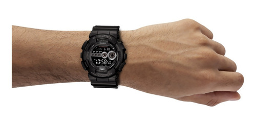 reloj casio g-shock youth gd-100-1b analógico negro