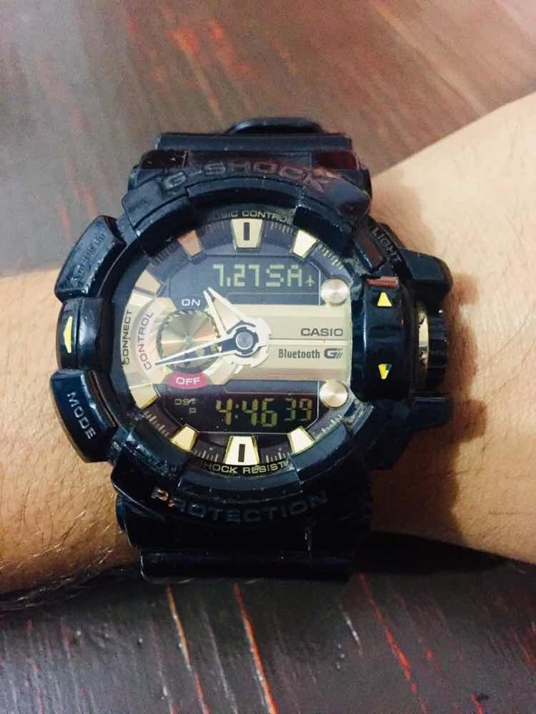 Bluetooth Shock 400 Casio G Reloj Gba N8nOvym0w