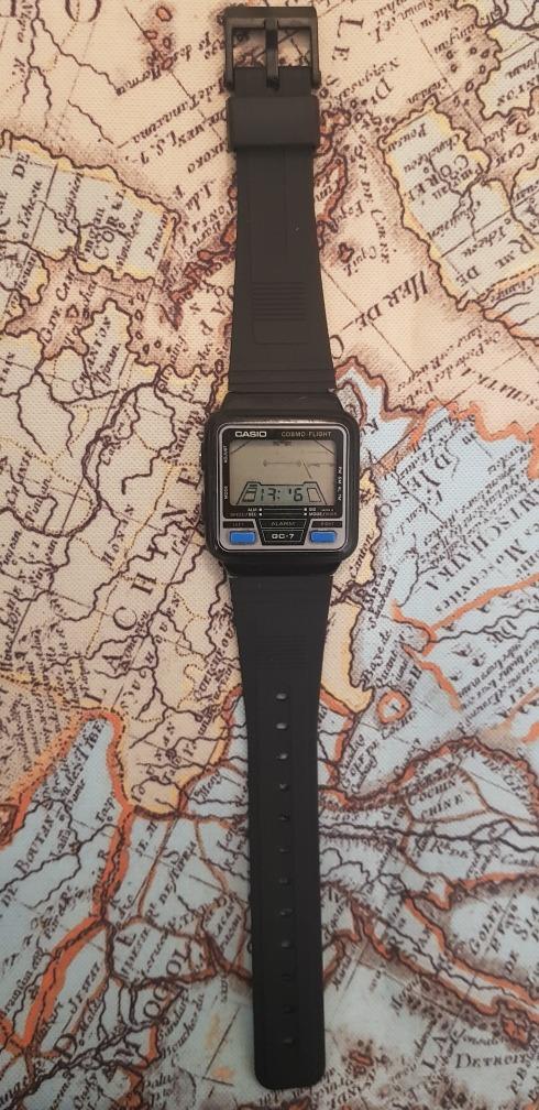 Vintage7 00 Reloj Gc Retro Jueguito Flight 249 Juego Cosmo 7 Casio WHbY2IDeE9