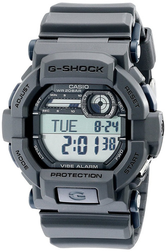 reloj casio gd g gris