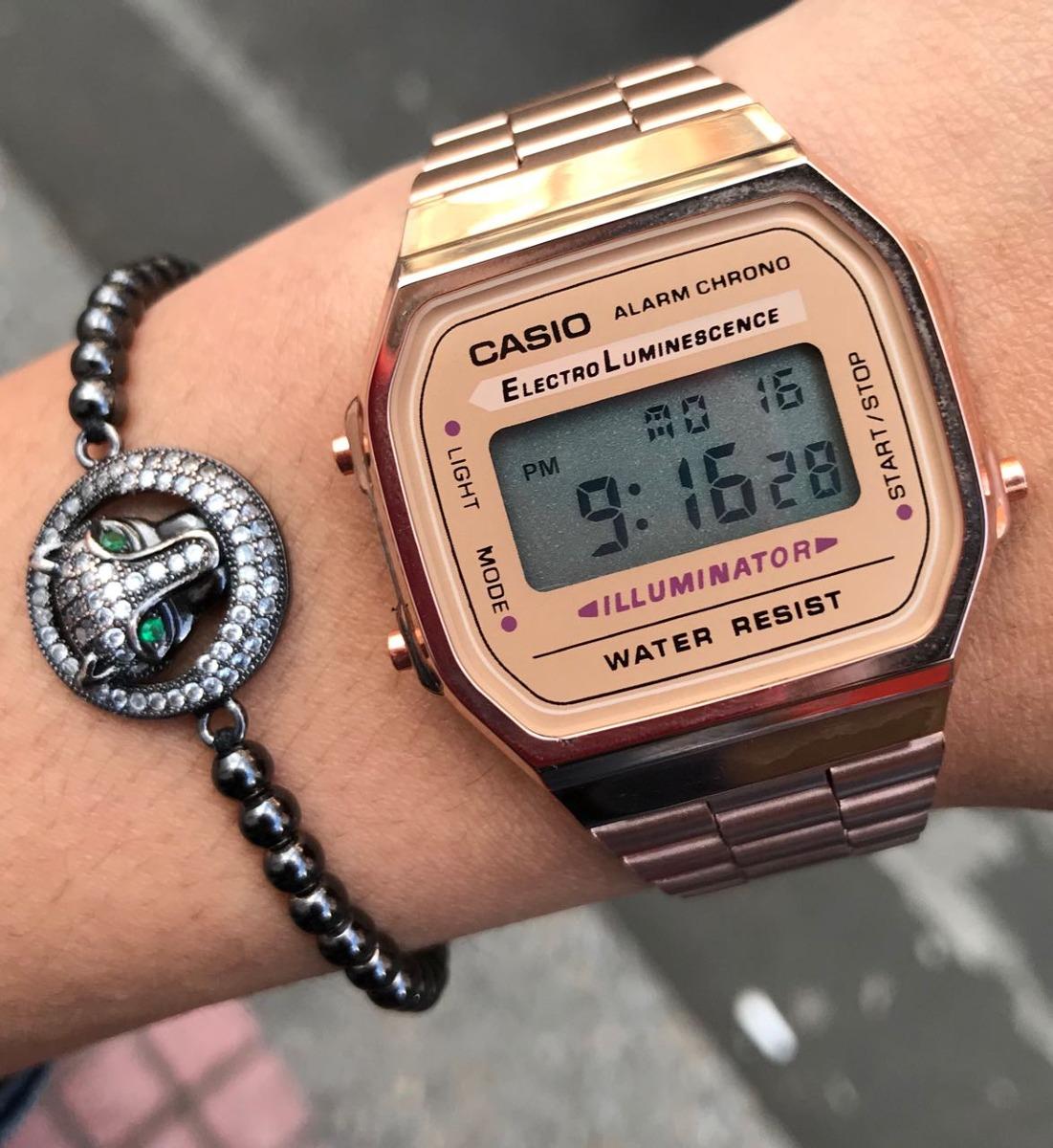 Oro Y Gold Reloj Casio Caballero Sale Dama Edition Rosa Big E9WHeDI2Yb