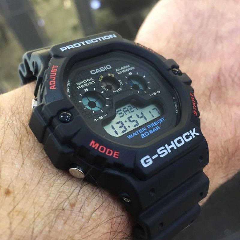 Gshock Reloj Alarma 200m Luz Cristal Mineral Casio kZPOXiu