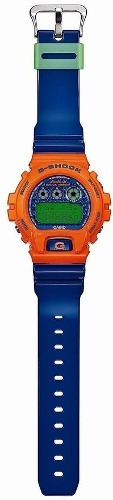 reloj casio gshock dw6900sc4 azul