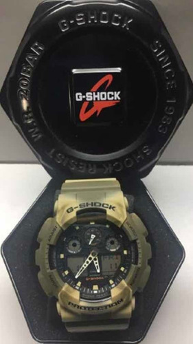 reloj casio gshock ga-100mm-5a camuflado