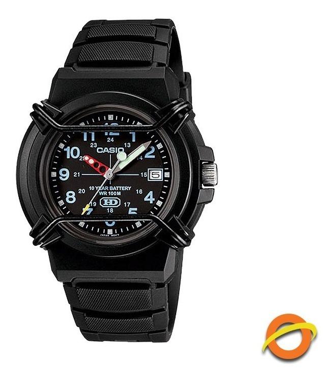 Analogico Reloj Pila 600b 10 Casio Hda Sumergible Fecha Años EH2WD9IY