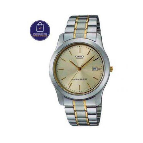 1ea90ae8b0c2 Reloj Casio Mtp 1141g 9ar Acero Plateado Y Dorado Hombre -   107.900 ...