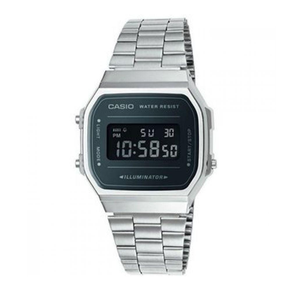 Reloj Casio Casio A168wem1 Hombre Reloj Casio Plateado A168wem1 Hombre Plateado Reloj xBtrCQdsh
