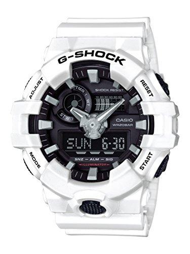 9776eb7126c7 Reloj Casio Para Hombre Ga-700-7acr G ShockColor Blanco De ...