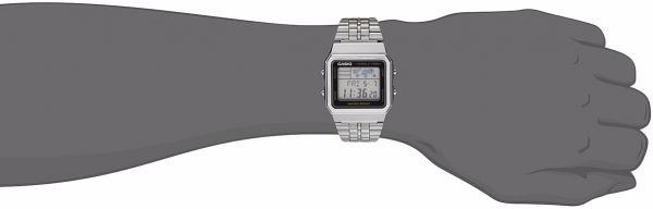 8f4273d17af0 Reloj Casio Retro Digital A500wa-1d Hombre Acero Original -   4.485 ...