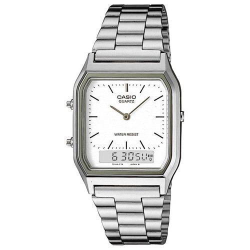 d6ef1bb5ad2b Reloj Casio Para Hombre Aq-230a-7d Con Cristales Mineral De ...