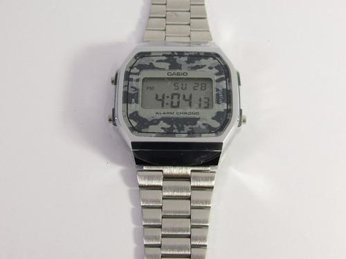 reloj casio hombre a-168wec-1 vintage envio gratis