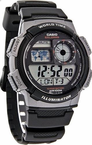 reloj casio hombre ae-1000w-1b