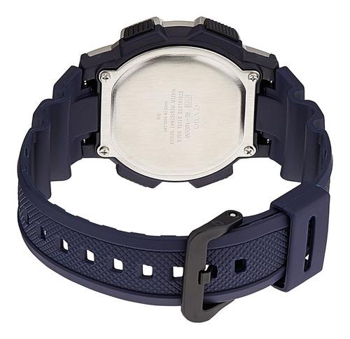 reloj casio hombre ae-1000w-2a deportivo azul original