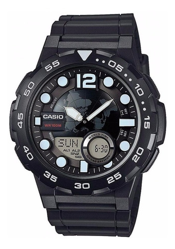 reloj casio hombre aeq-100w-1a envio gratis