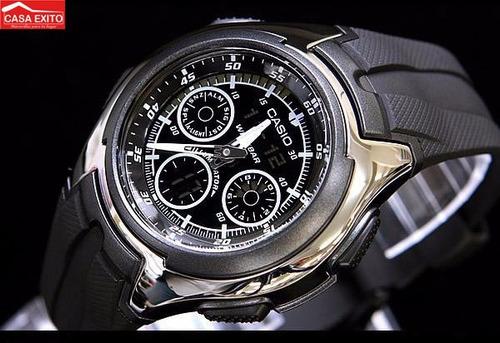 reloj casio hombre aq-163w-1b1v
