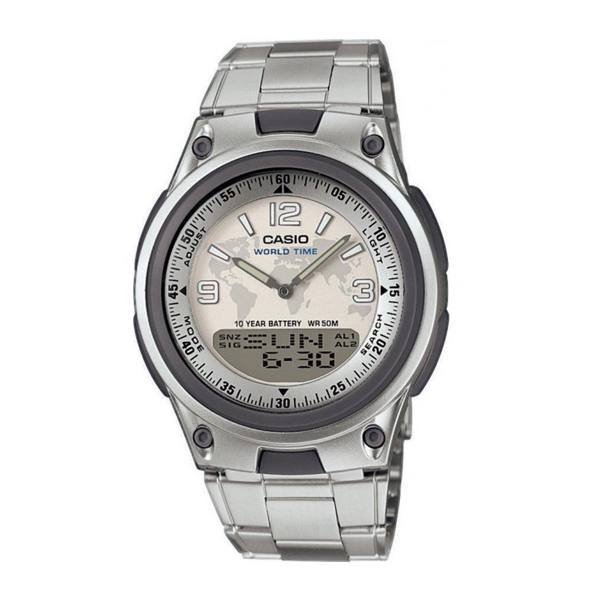 Megawatches 80d Casio Reloj Digital Wr Hombre Aw Analógico 53RcAjLqS4