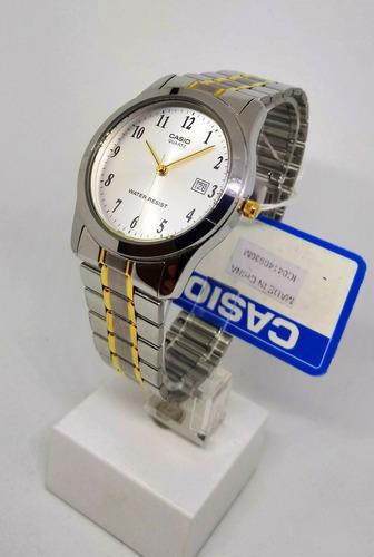 reloj casio hombre clasico calendario agente oficial