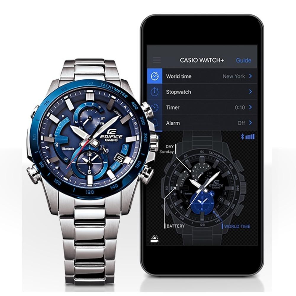 Hombre Casio Reloj BluetoothSolar Eqb 900d cronoLuzAce DI29YHWE