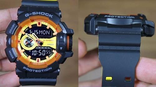 reloj casio hombre g-shock ga-400by-1a envio gratis