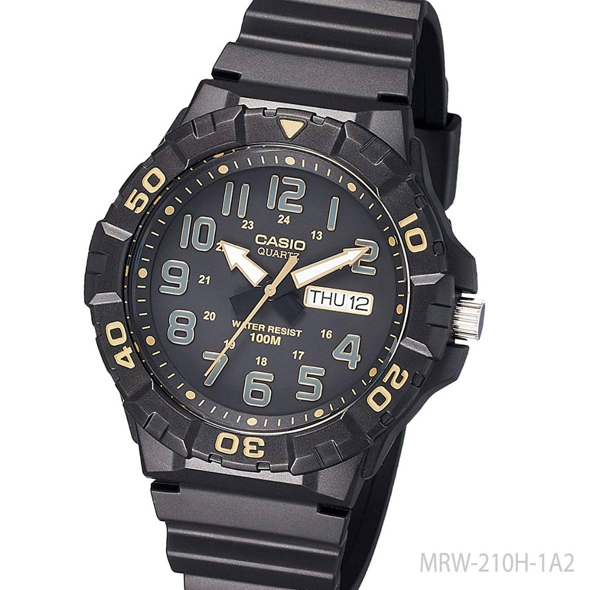 17bbbc11f24a Reloj Casio Hombre Mrw-210h-1a2v Wr 100mts