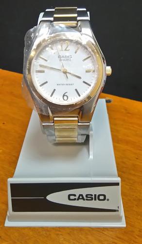 reloj casio hombre mtp 1253 acero original..... envios!!!!!!
