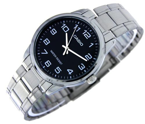 reloj casio hombre mtp-v001d-1b agente oficial caba