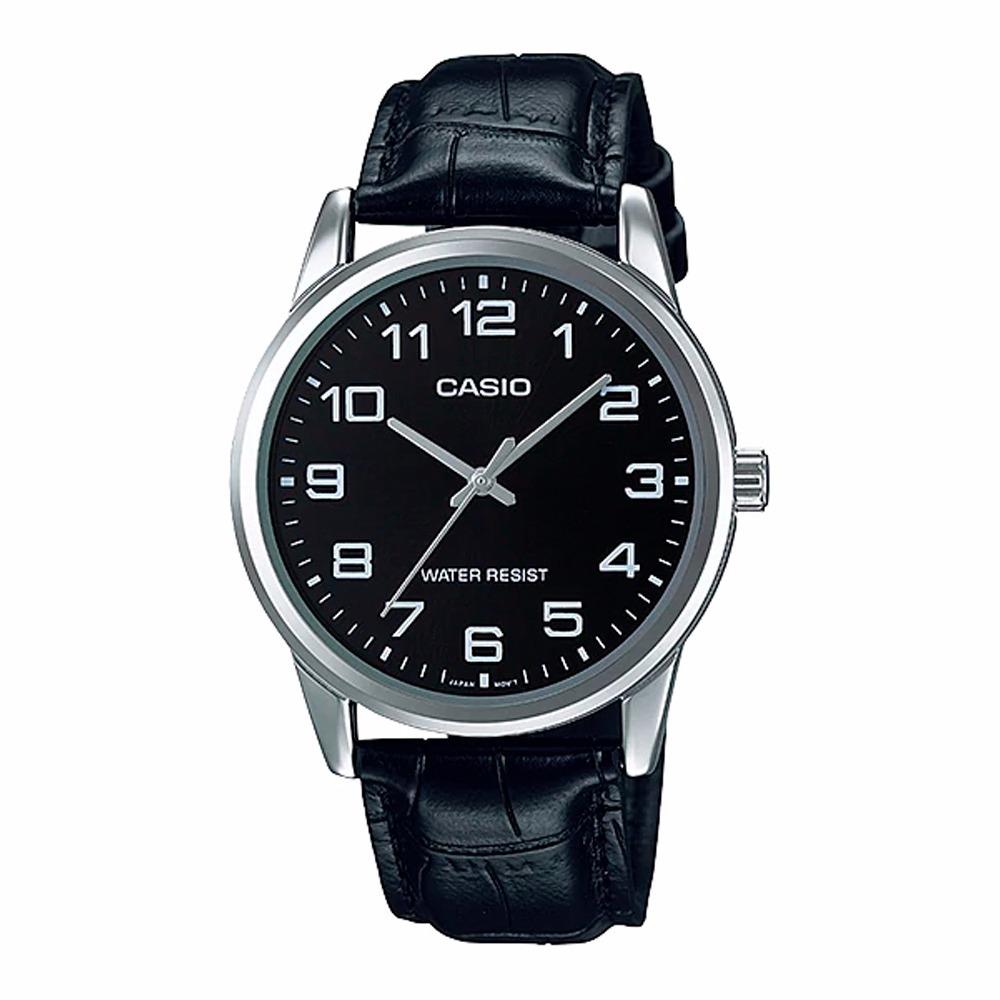6bf2034b359c Reloj Casio Hombre Mtp-v001l-1b Análogo Pulso Cuero -   84.999 en ...