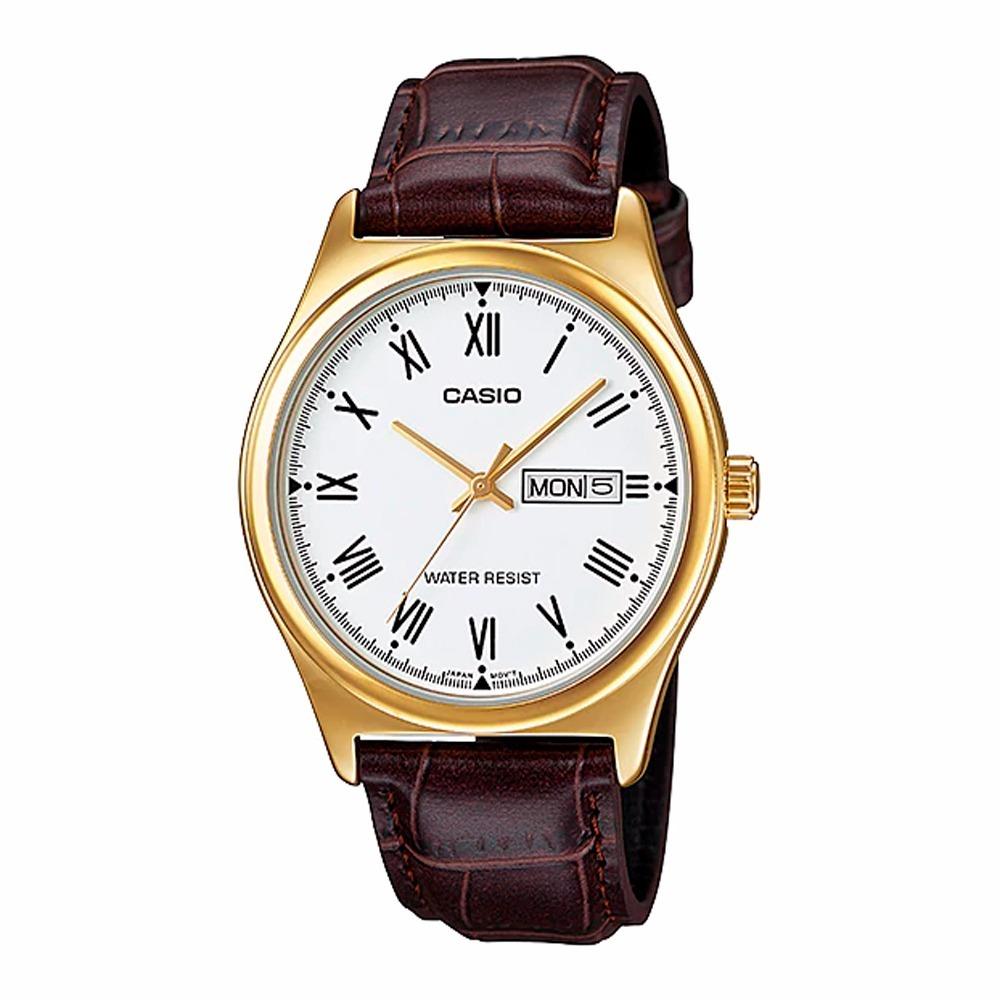 b731520cd656 Reloj Casio Hombre Mtp-v006gl-7b Análogo Pulso Cuero -   97.200 en ...