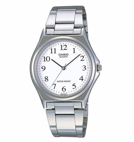 reloj casio hombre mtp1130a análogo con correa de acero