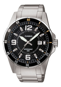 Mtp Casio Plata 1291d Reloj 1a2vdf Hombre WE9HDI2